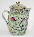 Chinese Export Famille Rose Cider Jug, Circa 1800