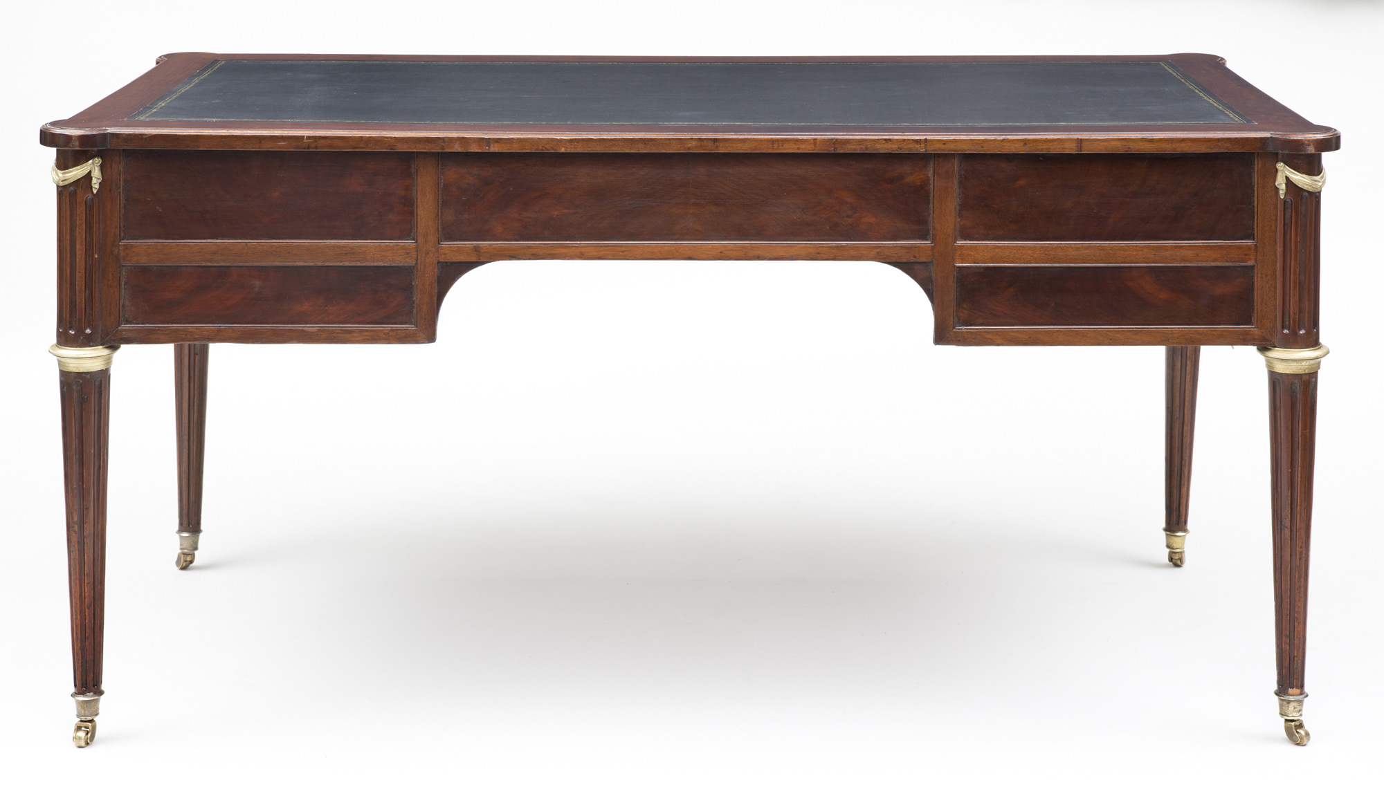 Product french louis xvi mahogany bureau plat circa 1790 for Bureau louis xvi
