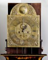 George III Chinoiserie Lacquered Tall Case Clock