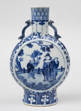 Chinese Kangxi Moon Flask, Circa 1662-1722