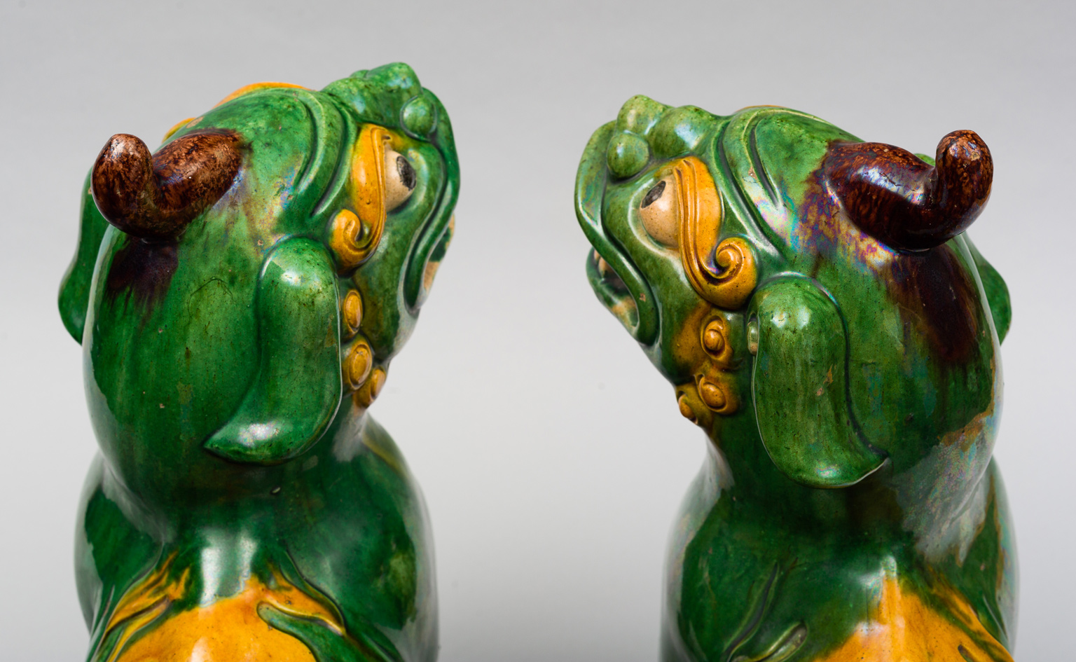 Pair Large Chinese Foo Dogs
