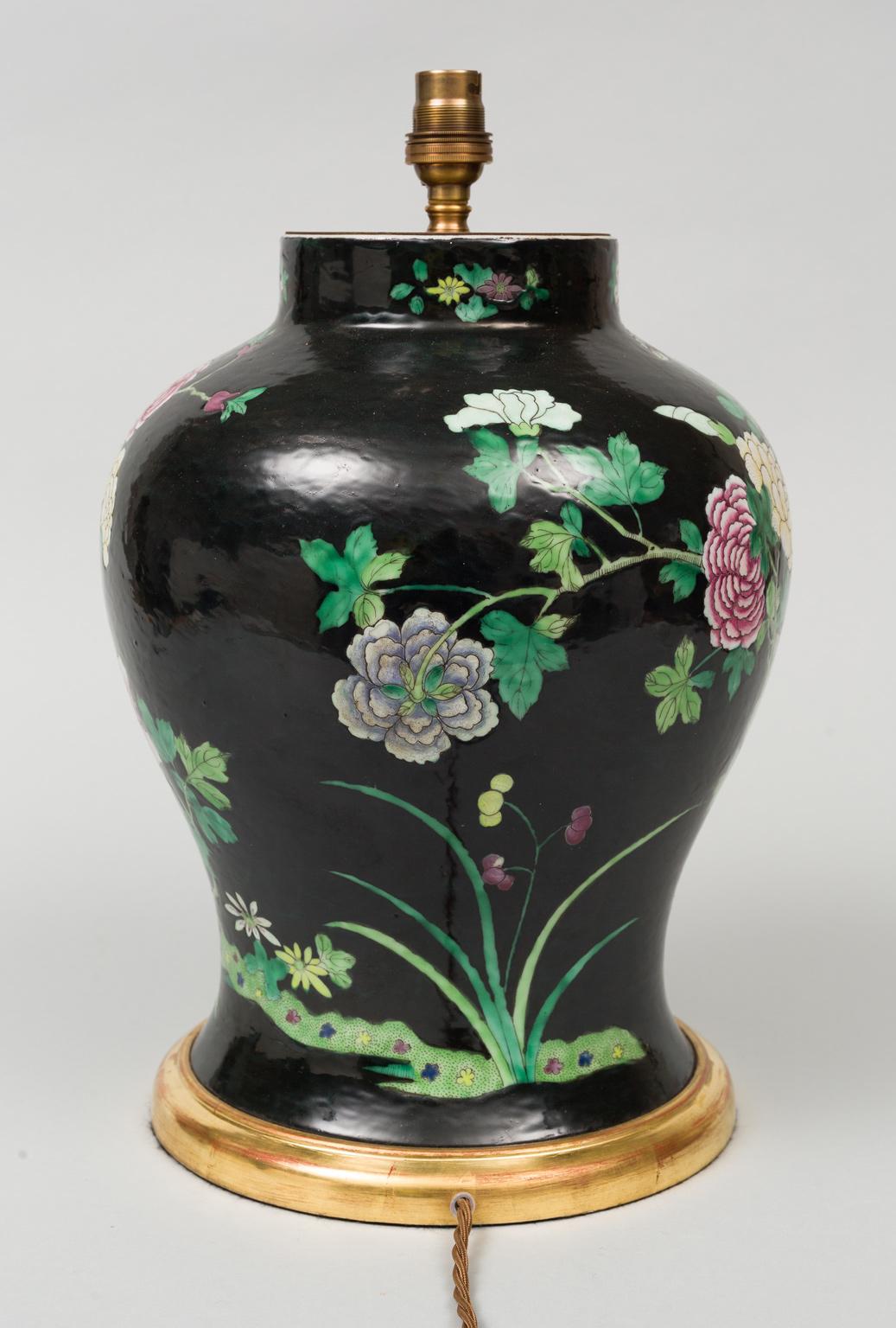 Chinese famille noire vase lamp reviewsmspy