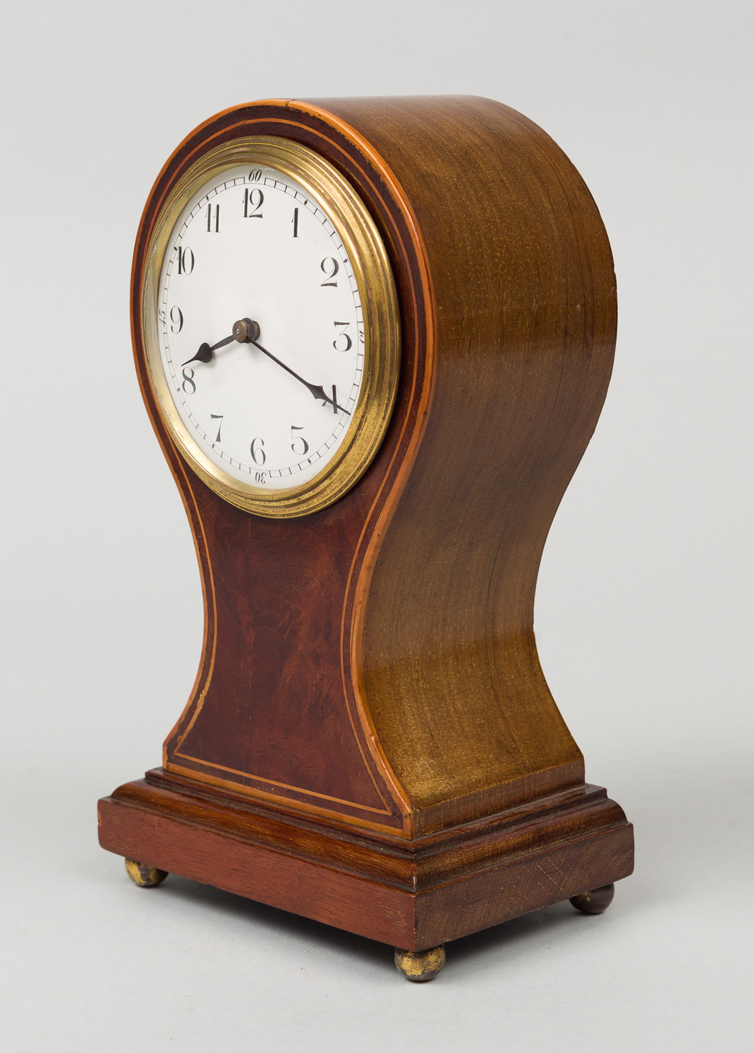 Balloon Shaped Desk Clock Circa 1900