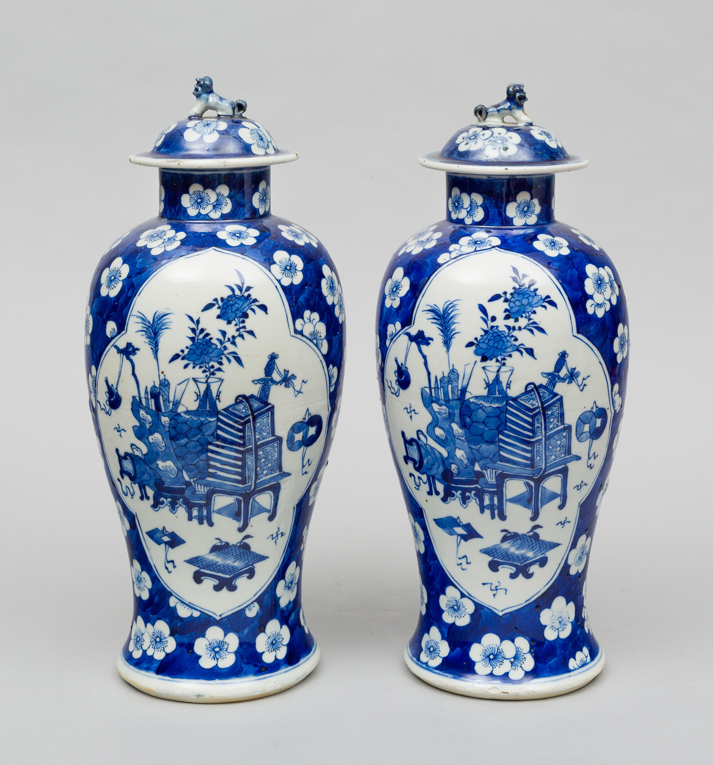 Pair of chinese vases with lids circa 1870 reviewsmspy