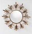 Italian Round Gilded Mirror