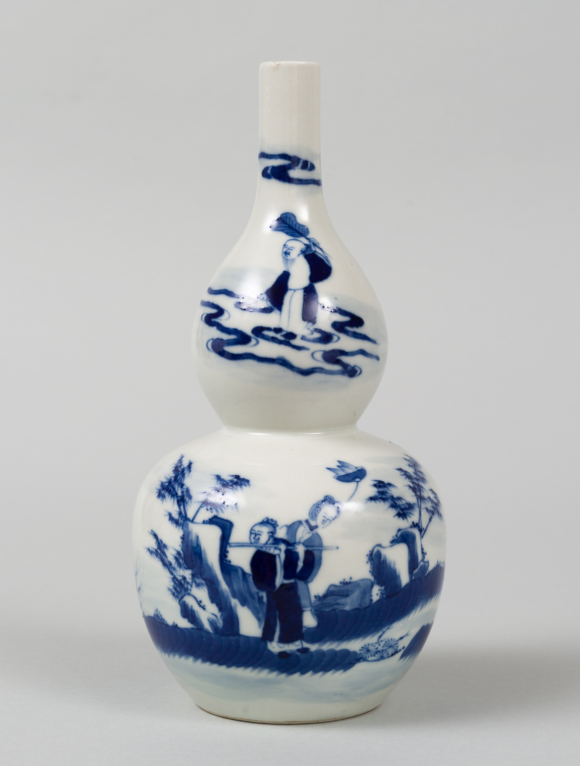 Chinese Double Gourd Vase Circa 1880