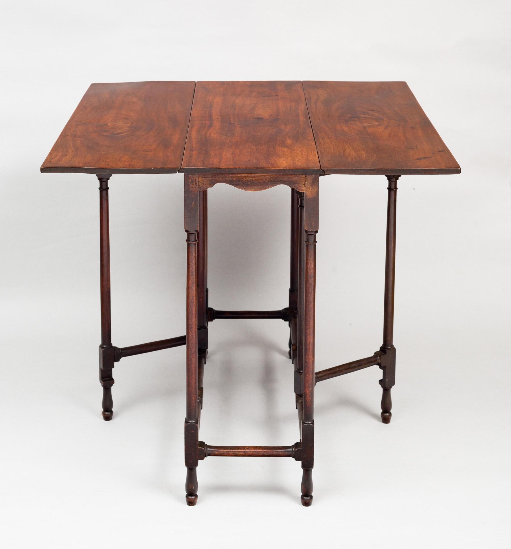 ... George III Mahogany Spider Leg Table ...