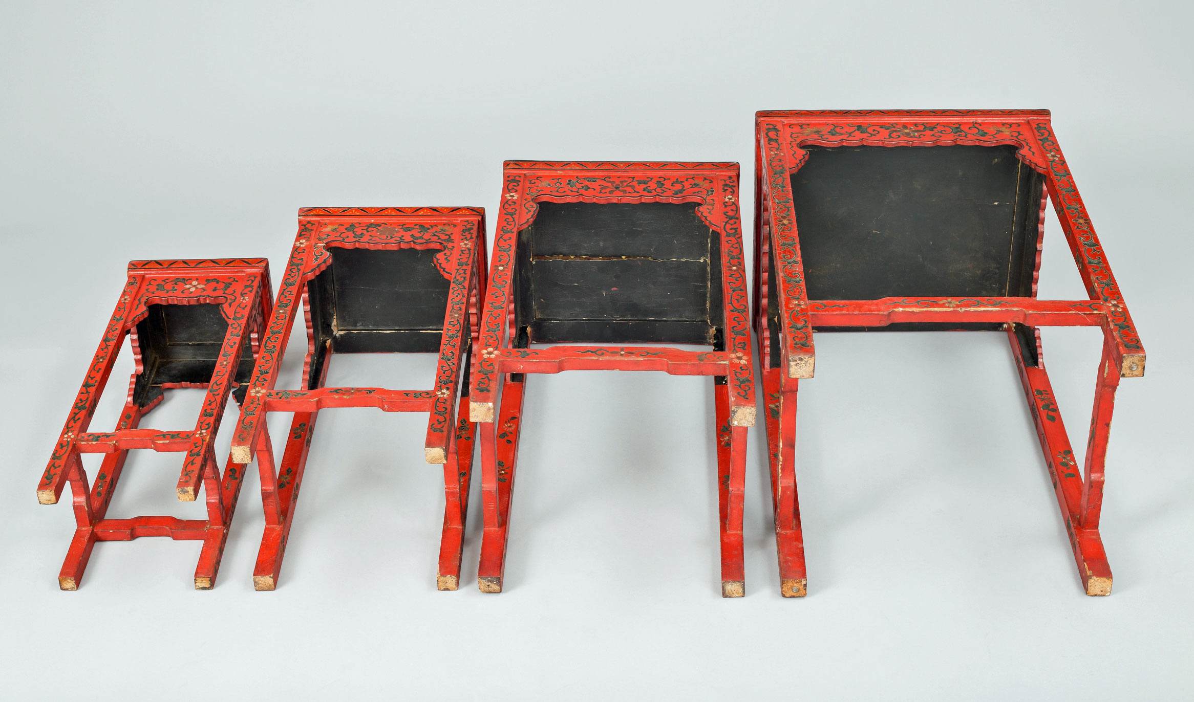 red lacquered furniture. Red Lacquered Furniture -