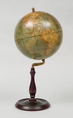 9 Inch Philips Desk Globe, Circa 1910-20