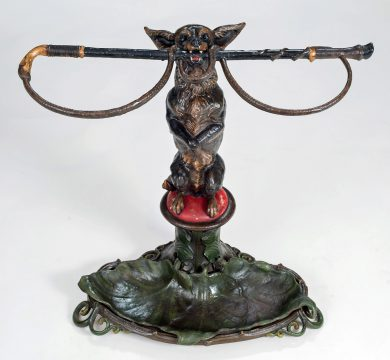 Coalbrookdale Cast Iron Stick or Umbrella Stand