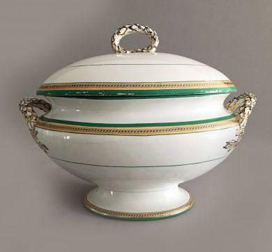 Copeland Porcelain Soup Tureen
