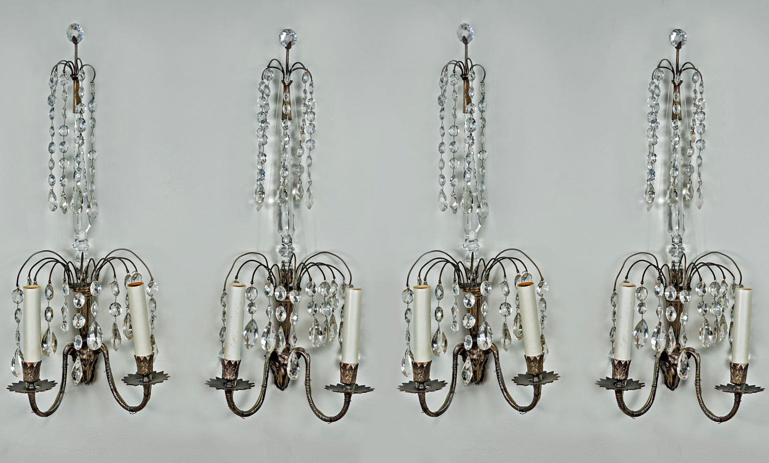 i ceramic pair pin wall beautiful sconces these art crystal french deco sconce need
