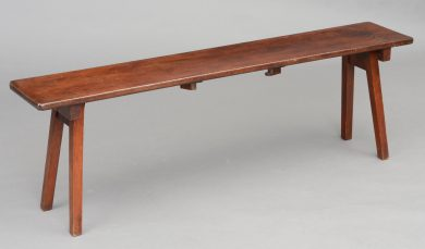 Anglo-Indian Antique Folding Army & Navy Bench, Circa 1890