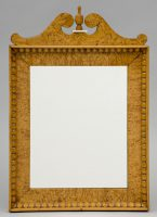 Biedermeir Maple Mirror