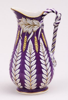 Brownfield Pottery Fuschia Jug, 1859