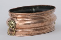 Dutch Copper Jardiniere, Circa 1820