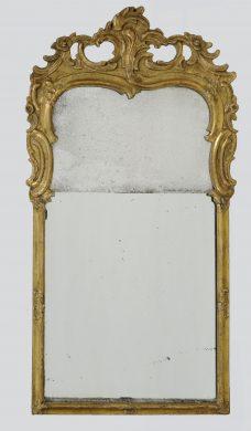 Dutch Rococo Mirror, Circa 1760