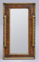 George II Walnut Mirror