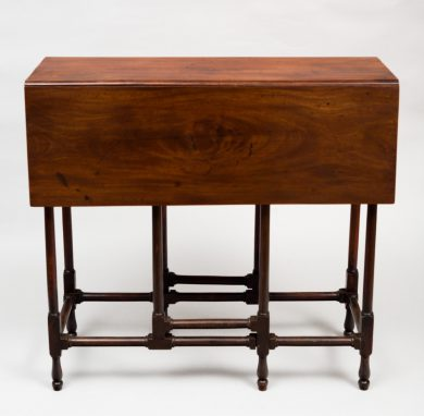 George III Mahogany Spider Leg Table