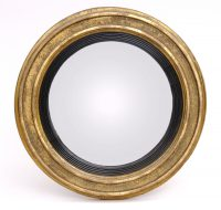 Antique English Georgian Convex Mirror