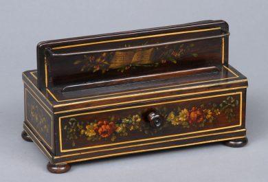 Regency Partners Rosewood Letter Rack, Circa 1820