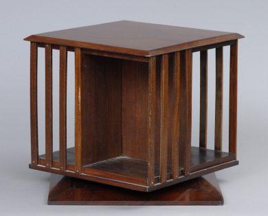 Edwardian Revolving Desk Book Stand, Circa 1900