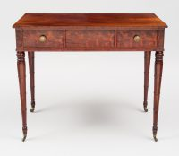 Sheraton Mahogany Side Table, Circa 1800