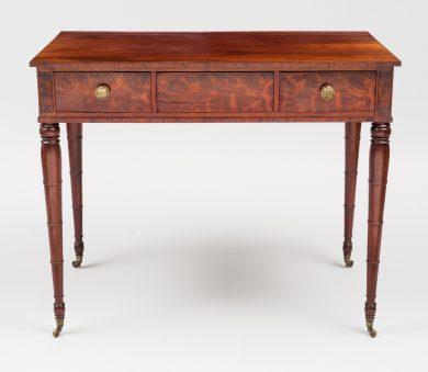 Sheraton Mahogany Side Table, Circa 1800