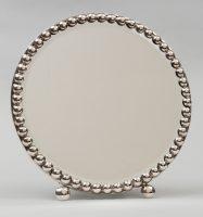 Small Round Dressing Mirror