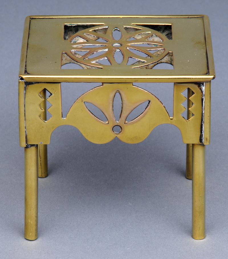 - Antique Miniature Brass Footman, Circa 1860