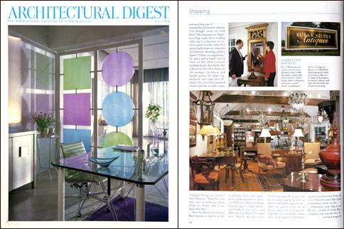 Architectural digest article shop photo