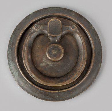 Antique Bronze Stable Door Knocker