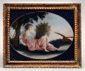China Trade Reverse Glass Painting, Circa 1800