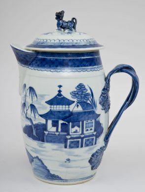 Chinese Export Large Cider Jug, Circa 1780