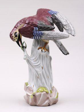 Dresden Porcelain Bird, Circa 1872