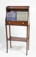 Small Edwardian Mahogany Bookcase