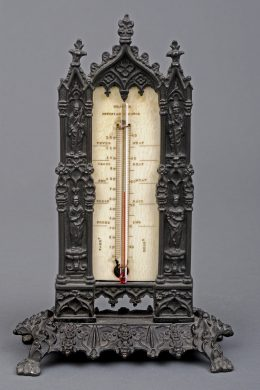 Bronze Desk Thermometer, Circa 1828