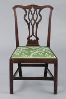 English Antique Chippendale Side Chair