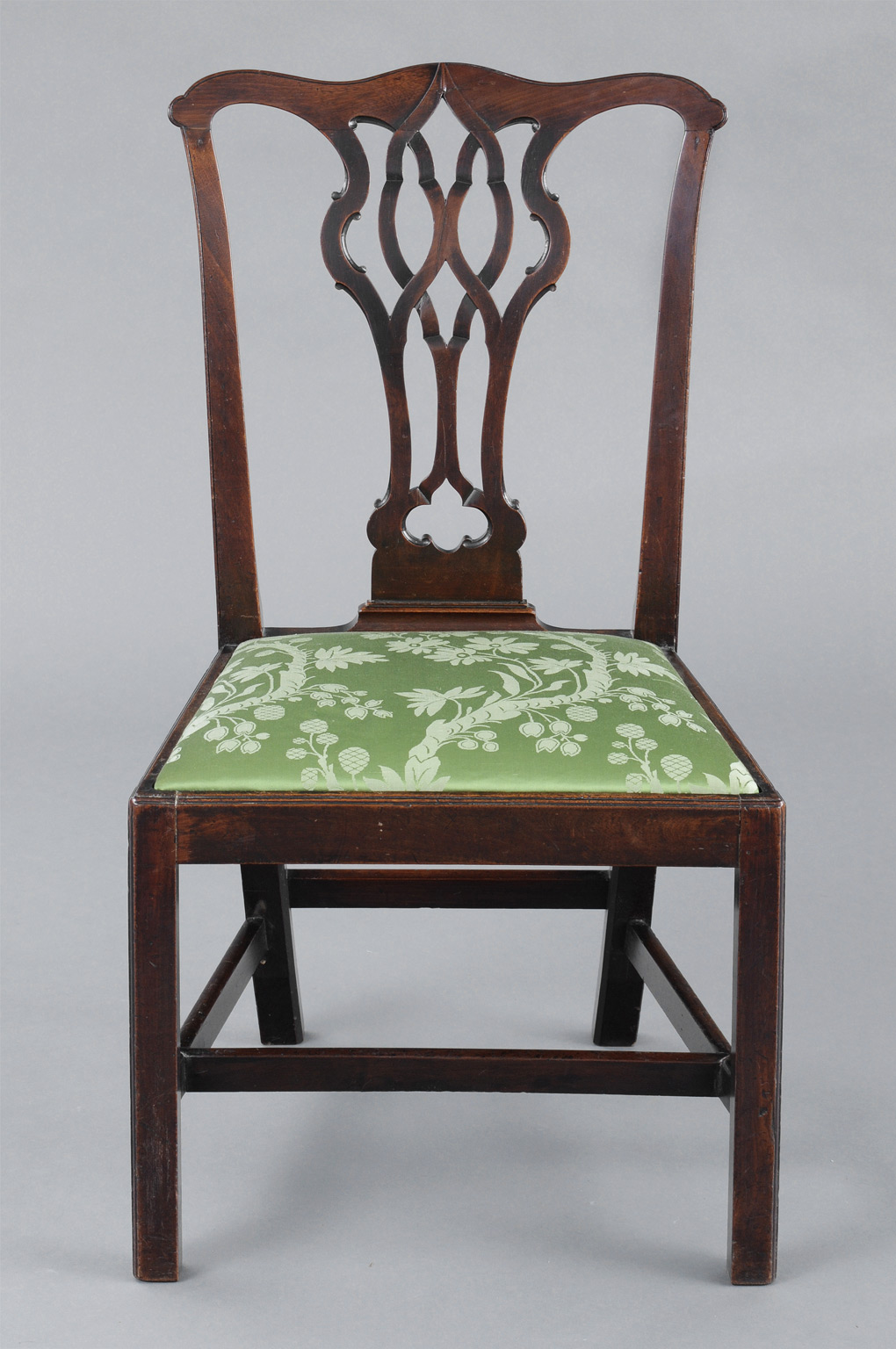 English Antique Chippendale Side Chair - English Chippendale Antique Side Chair Antique Mahogany Side Chairs