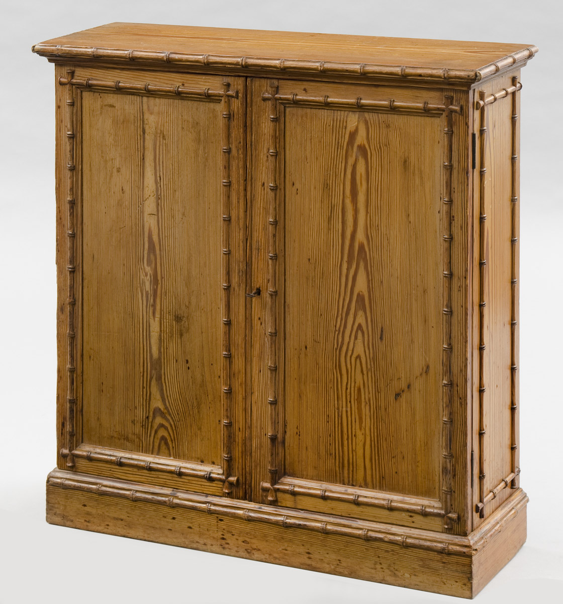 Antique English Faux Bamboo Cabinet | Antique English Cabinets