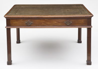 George II Partners Writing Table, Circa 1765