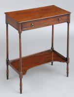 Rare English Georgian Side Table, Circa 1770