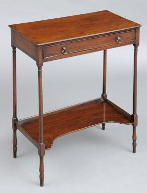 Rare English Georgian Side Table, Circa 1770