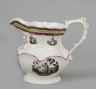 English Lustre Ware Pitcher
