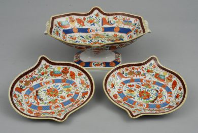 Minton Three-Piece Dessert Set