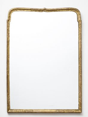 Queen Anne Giltwood Mirror, Circa 1730