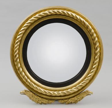 English Antique Regency Giltwood  Mirror