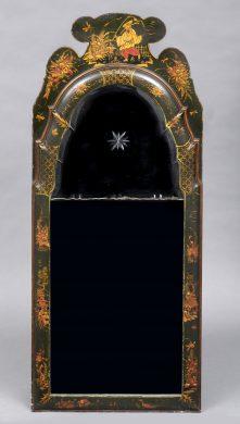 English Chinoiserie Mirror