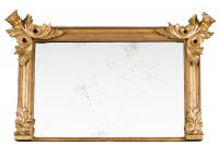 Overmantle Giltwood Mirror