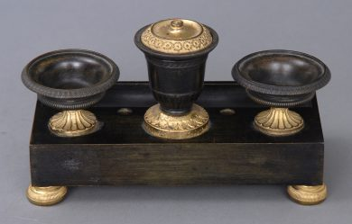 French Empire Inkstand, Circa 1815